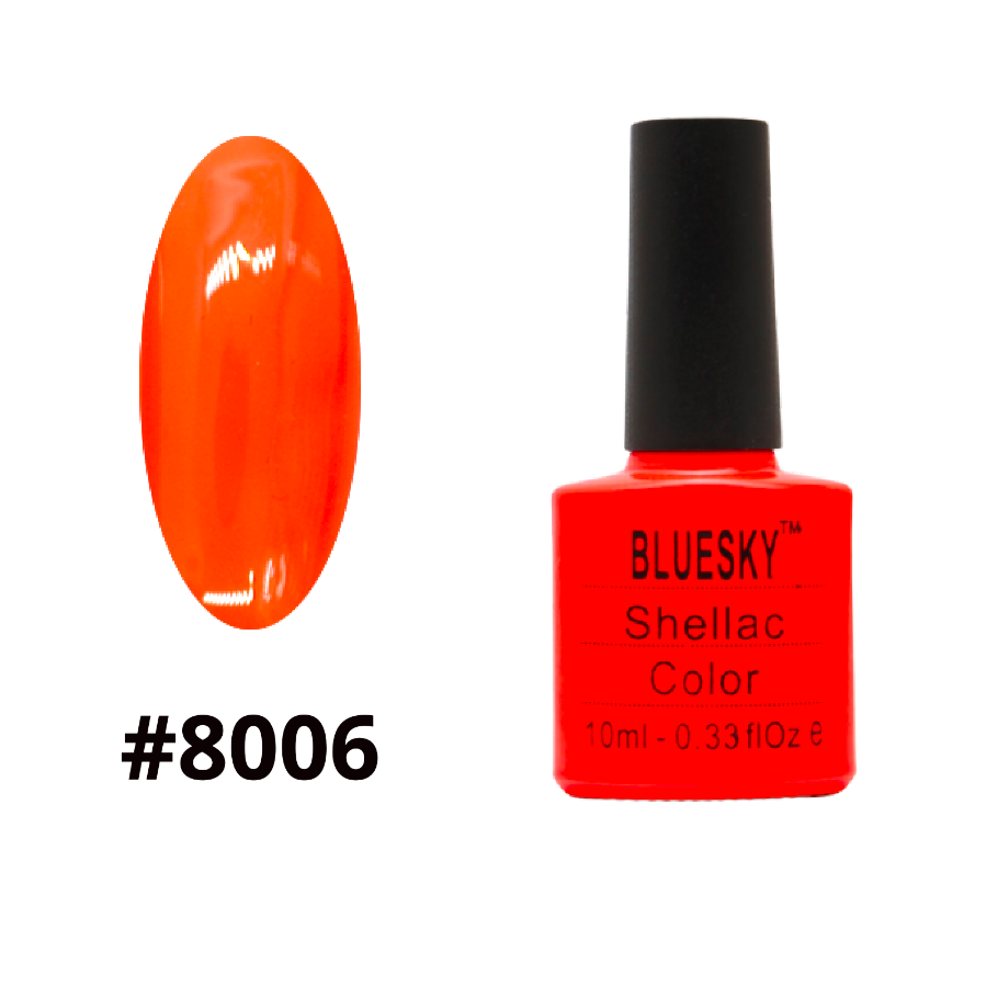 Гель-лак Bluesky Shellac Color 10ml №8006
