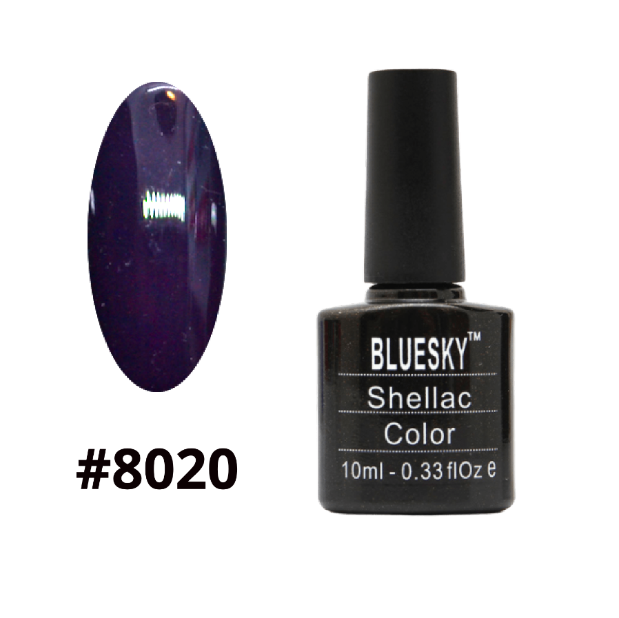 Гель-лак Bluesky Shellac Color 10ml №8020