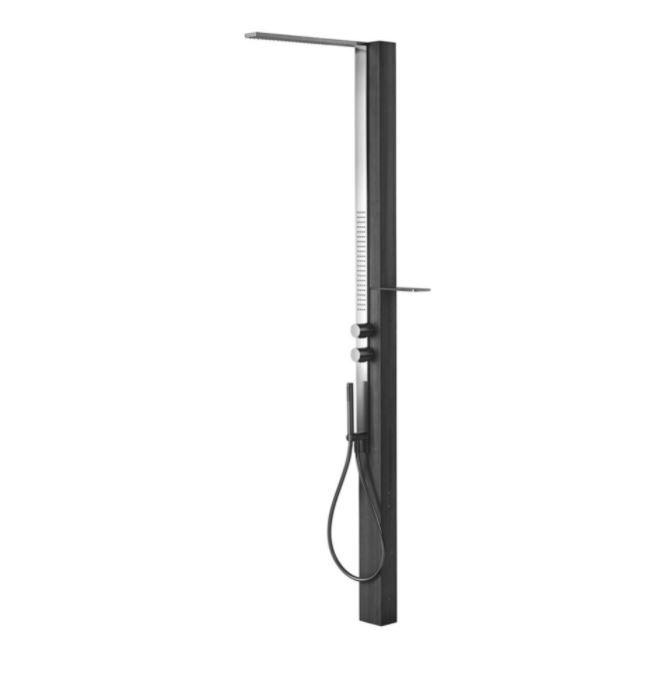 Напольная душевая система Fantini Milanoslim Outdoor H101 с прогрессивным смесителем ФОТО