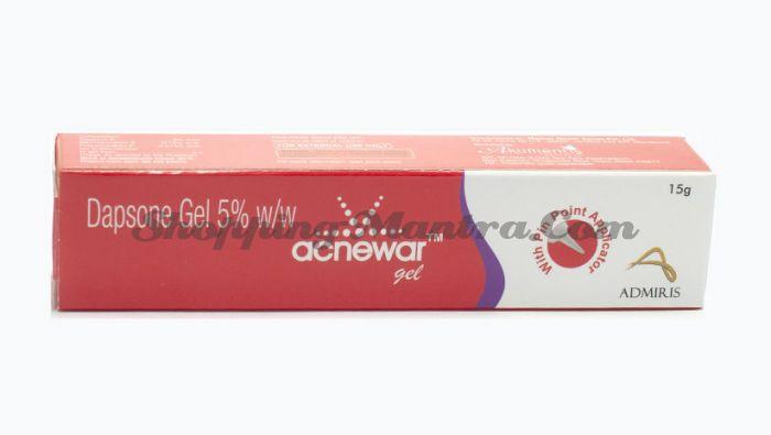 Акневар гель (дапсон 5%) Akumentis Healthcare Acnewar Gel (dapsone 5%)