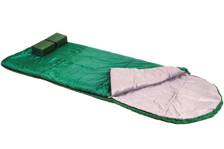 Спальник ПИК-99 ЛОТОС- 2000К 2.2 кг 0 °С 204+40х95см Упаковка Ø28 х 46 см