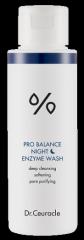 Ночной энзимный скраб с пробиотиками Dr Ceuracle Pro Balance Night Enzyme Wash