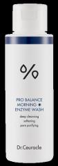 Утренний энзимный скраб с пробиотиками Dr Ceuracle Pro Balance Morning Enzyme Wash