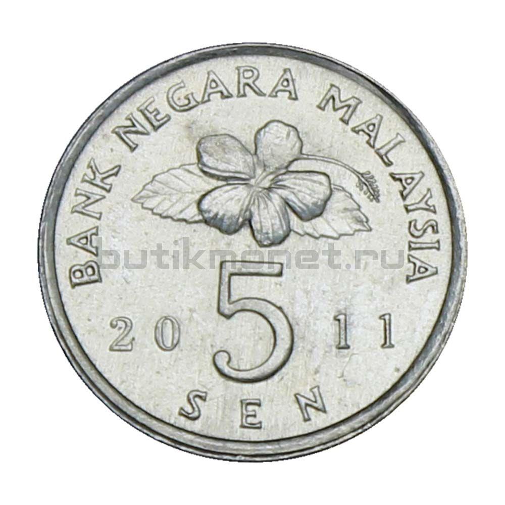 5 сенов 2011 Малайзия