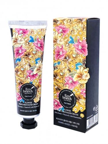 Eco Branch Крем для рук Flower Perfumed Hand Cream Shea Butter With Chamomile 40гр