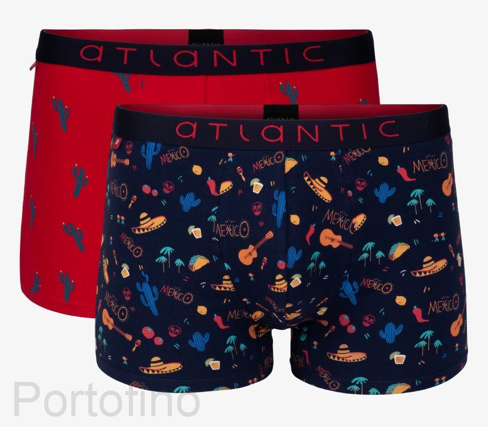 2GMH-001 Трусы мужские шорты Atlantic Mexico -набор 2 шт.