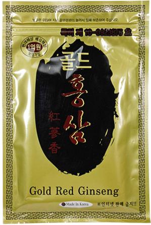Противовоспалительные пластыри с красным женьшенем Gold Red Ginseng Pad 20шт