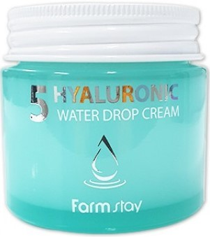 Интенсивный крем с гиалуроновой кислотой Farm Stay Hyaluronic5 Water Drop Cream 80мл
