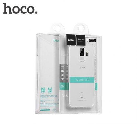 Защитный чехол HOCO Light series для Galaxy S9, прозрачный полиуретан
