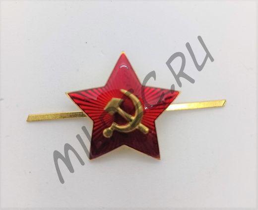 Звезда образца 1936 г. на головные уборы (31 мм) реплика