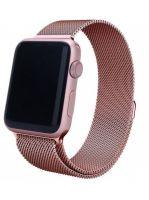 Ремешок миланская петля для часов Apple Watch  38/40mm розовое золото