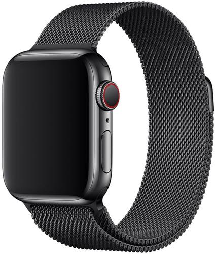 Ремешок миланская петля для часов Apple Watch  38/40mm Черный