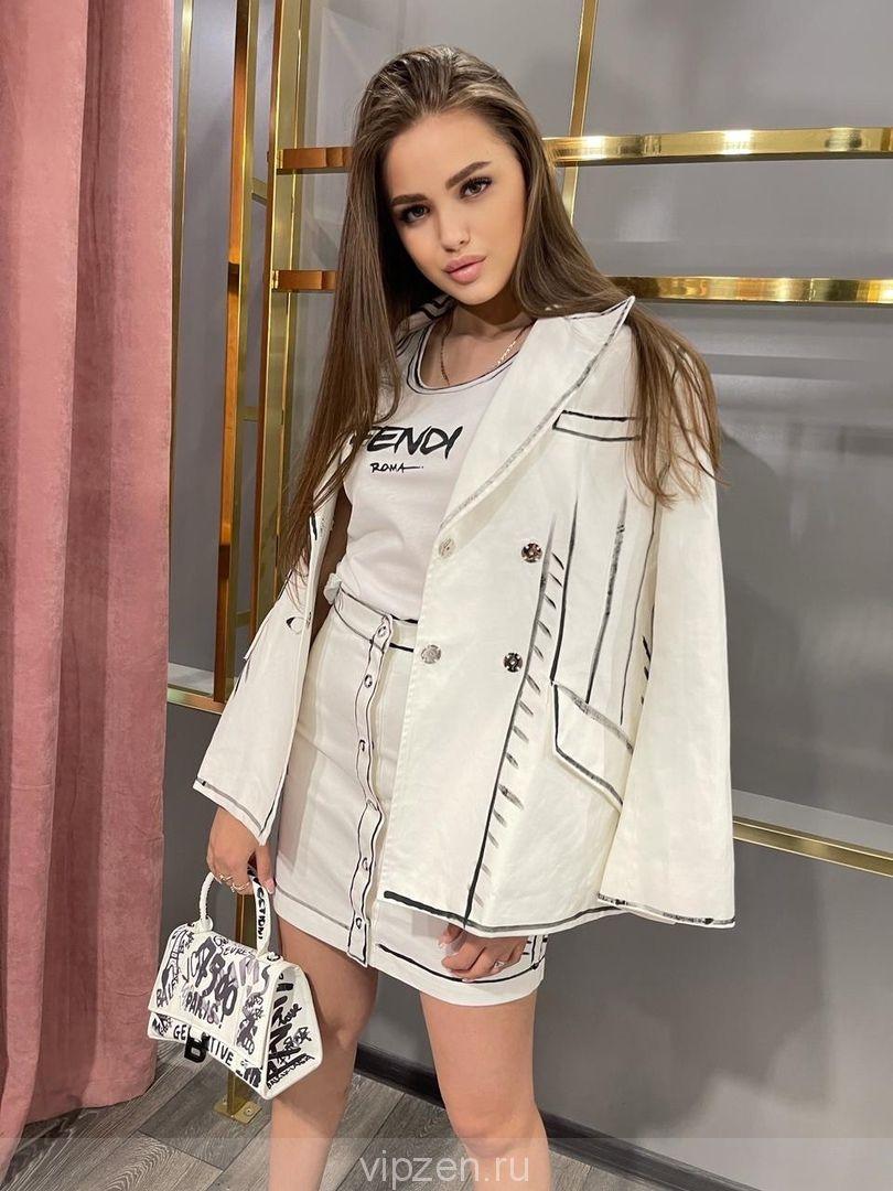 Роскошный пиджак в Люкс исполнении
