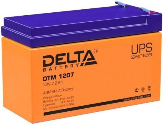 Аккумулятор Delta DTM 7.2-12 12 В 7,2 А/ч