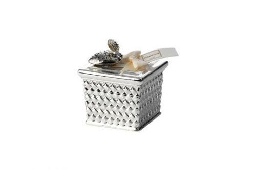 Декоративная свеча RATTAN малая, белая A-0.02285