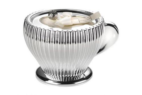 Декоративная свеча CAPUCCINO, белая A-0.02514