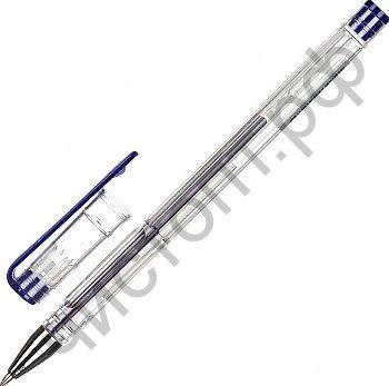 Ручка гелевая Attache синий стерж., 0, 5мм, без манж. (12)