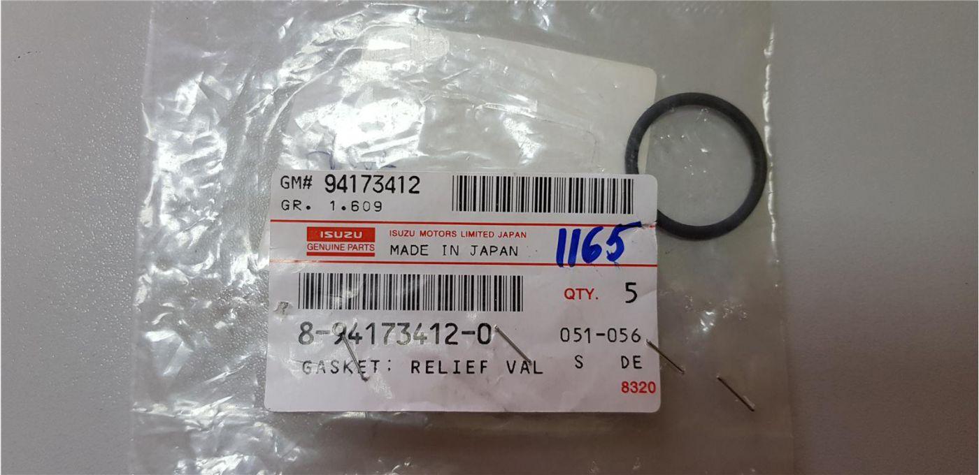 Прокладка (кольцо) топливной форсунки 4HK1 6HK1 Isuzu FVR34