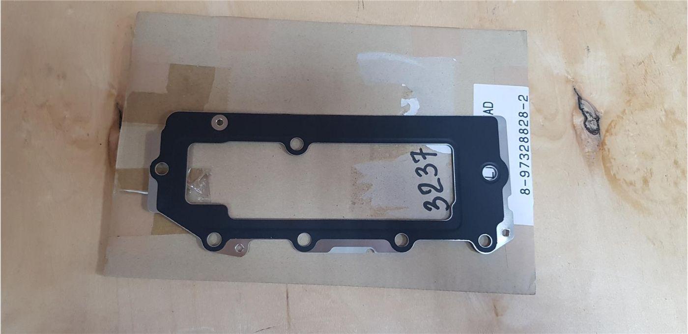 Прокладка ГБЦ (2-я часть) толщина 1.40 мм двигатель 4JJ1 ISUZU NMR85 ЕВРО-4