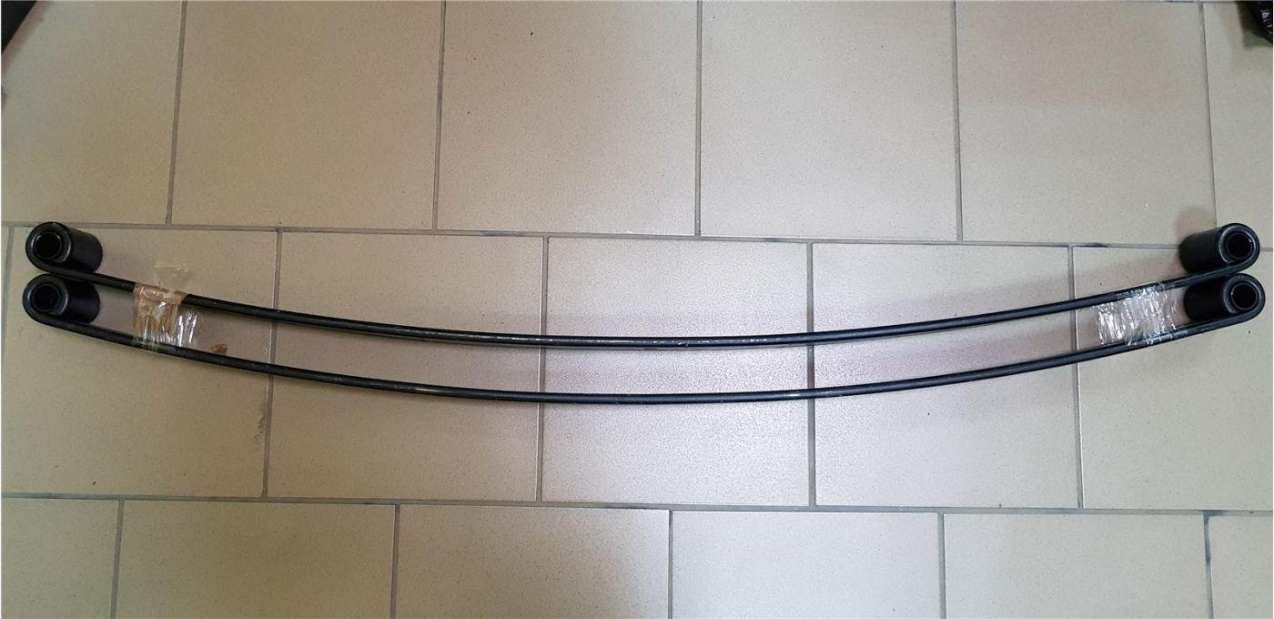 Лист рессоры задний коренной (в сборе с втулками) HINO300 (Ш/К)