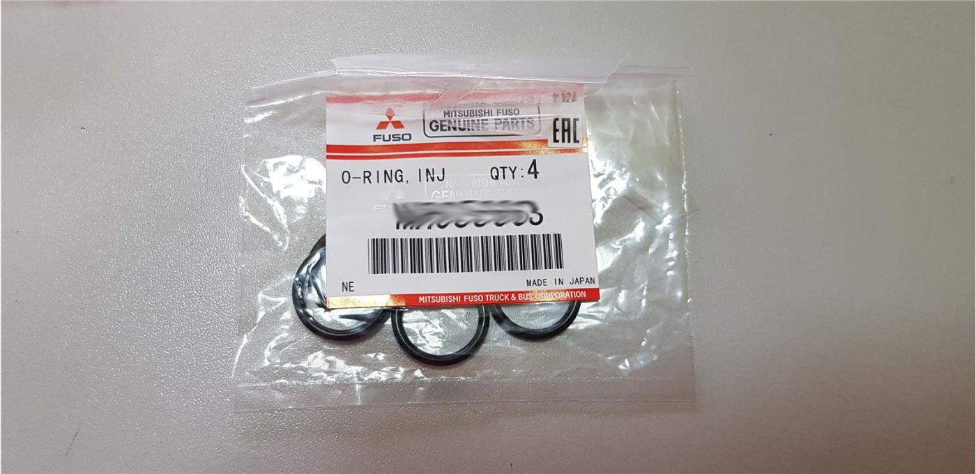 Кольцо форсунки 16,6 уплотнительное резиновое Mitsubishi Fuso Canter