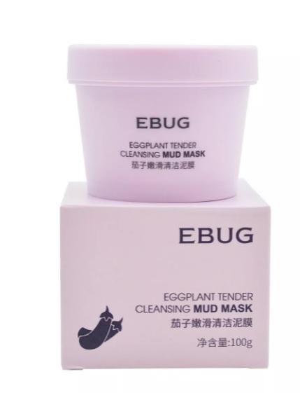 Очищающая грязевая маска с экстрактом баклажана EBUG Eggplant Tender Cleansing Mud Mask (7180)
