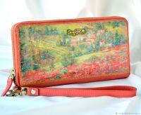 Кожаный кошелёк Тоскана