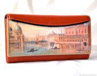 Кожаный кошелёк Венеция