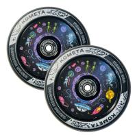 Комплект колес 2 шт. Комета Планета 110 мм (черный)