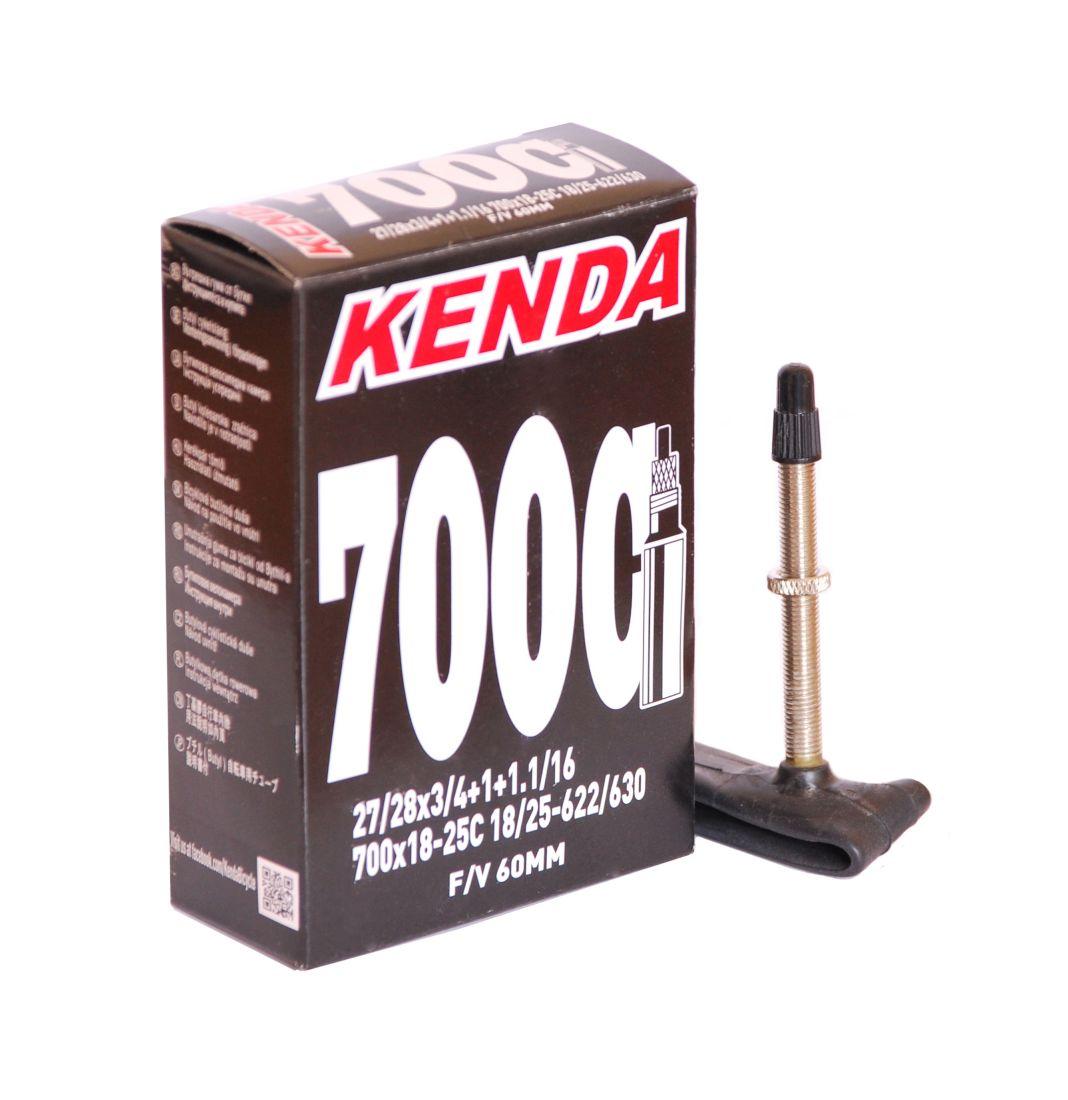"""Камера Kenda 28"""" 700x18 - 25C Шоссейная, f/v-60 мм"""