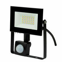 Прожектор светодиодный ULF-F62-30W/6500K SENSOR IP54 200-240В BLACK с дд и освещ 6500К корпус черный
