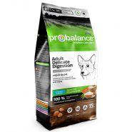 ProBalance Delicate Digestion Корм сухой для взрослых собак всех пород с лососем и рисом (15 кг)