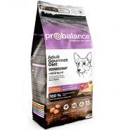 ProBalance Gourmet Diet Adult Beef & Rabbit Корм сухой для взрослых собак всех пород (15 кг)