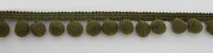 Тесьма Passan декоративная с помпонами (шариками) диаметром 10 мм. PA-18