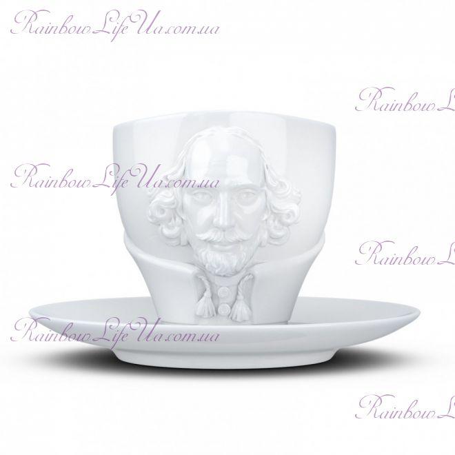 """Чайная пара Вильям Шекспир 260 мл """"Tassen"""""""