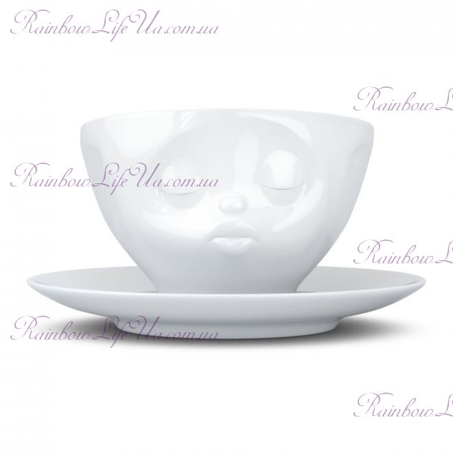 """Чашка с блюдцем для кофе 200 мл Tassen """"Поцелуй"""""""