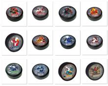 Шайба с символикой NHL (MASCOT)