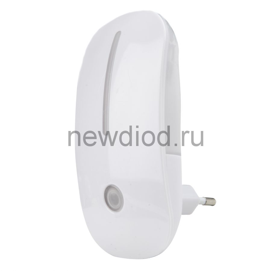 Светильник-ночник Сказка/White/Sensor DTL-318 с фотосенсором (день-ночь) белый ТМ Uniel