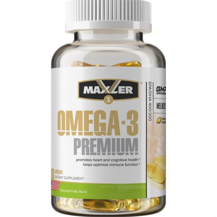 Maxler Omega 3 Premium 60капсул