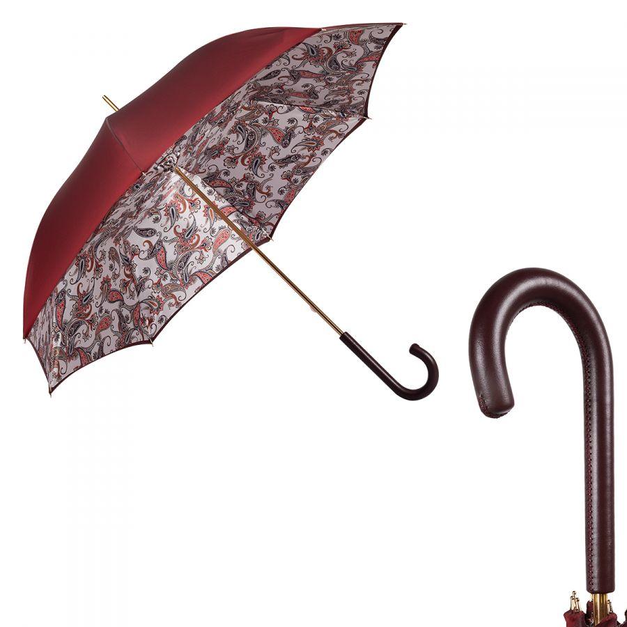 Зонт-трость Pasotti Bordo Paisley Original