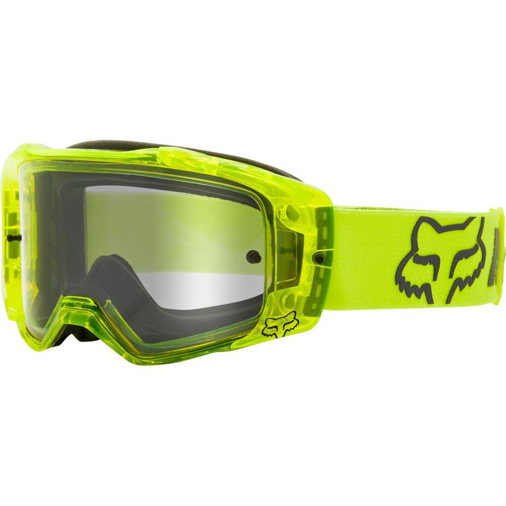 Fox Vue Mach One Fluorescent Yellow очки для мотокросса и эндуро