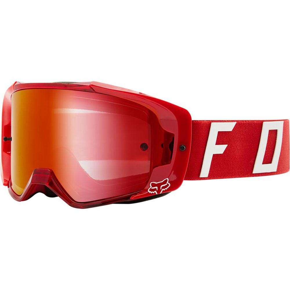 Fox Vue Psycosis Spark Flame Red очки для мотокросса и эндуро