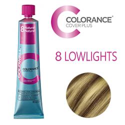 Goldwell Colorance Cover Plus Lowlights 8 Natural - Тонирующая крем-краска  60 мл