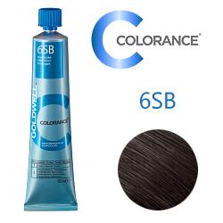 Goldwell Colorance 6SB - Тонирующая крем-краска Cеребристо-коричневый 60 мл