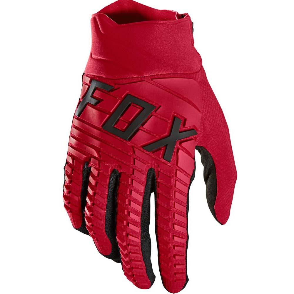 Fox 2021 360 Flame Red перчатки