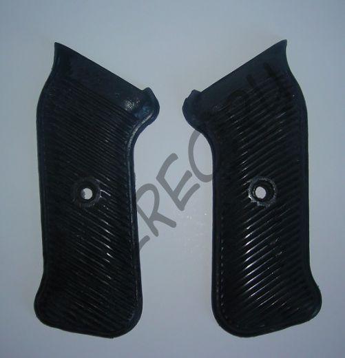 Накладки на рукоятку пистолета-пулемета MP-40 (копия) варианты: черный и темно-коричневый