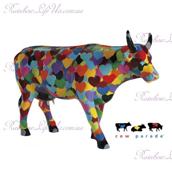 "Коллекционная статуэтка корова ""Heartstanding Cow"", Size L"