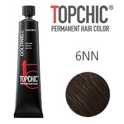 Goldwell Topchic 6NN - Стойкая краска для волос - Темно-русый экстра 60 мл.