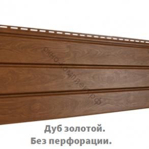 Софит Pro (полая перфорация , частичная перфорация, без перфорации.) 0,91 м 2 ( Под заказ)  Цвет: Дуб золотой, темный орех.