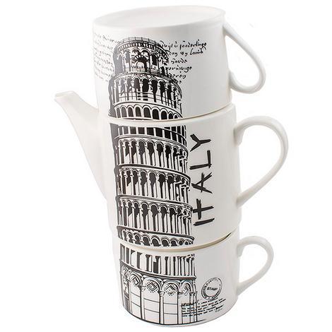 Набор чайный Париж, Италия